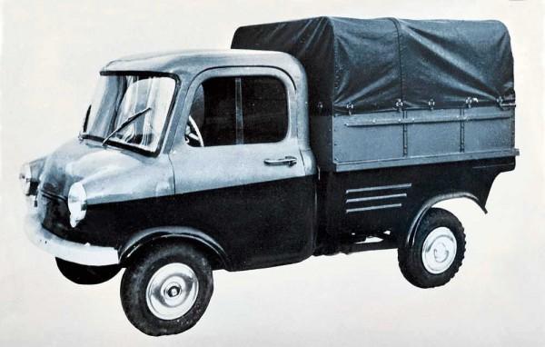 КМЗ Киев - опытный мини-грузовик