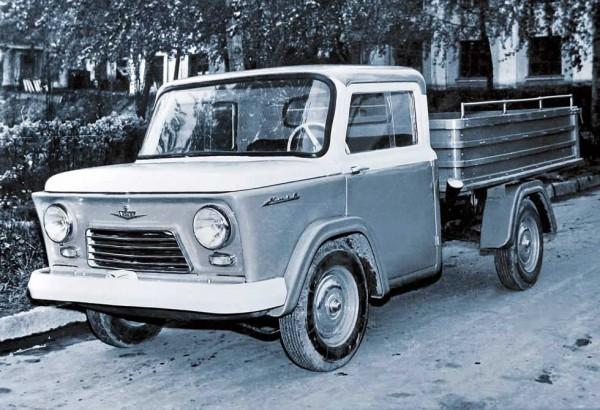 КМЗ Киев - прототип опытного легкого грузовика