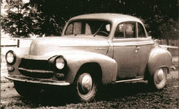 МЗМА М403Э Купе - оригинальный прототип
