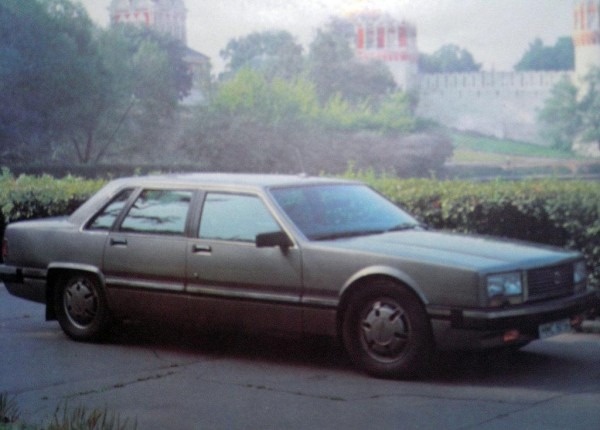 ЗиЛ-4102 - последний правительственный лимузин