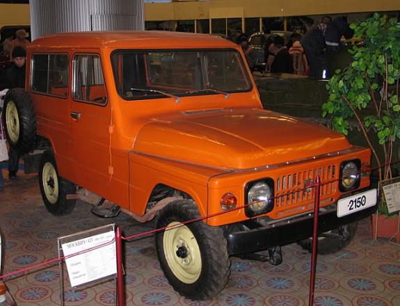 Москвич-2150 - легкий внедорожник