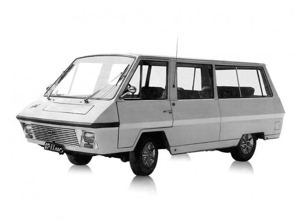 РАФ 982-II Опытный - микроавтобус вагонной компоновки