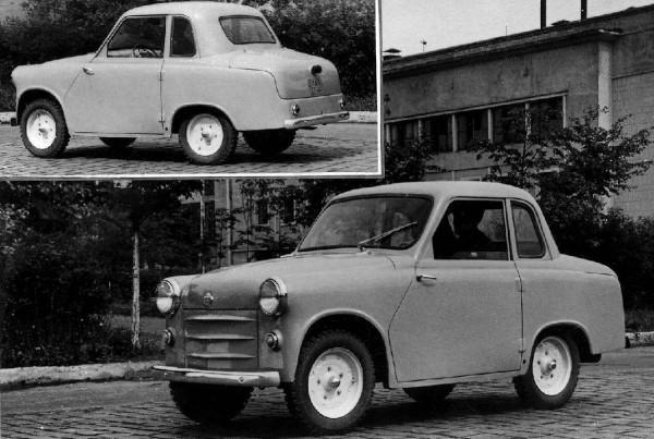 ГАЗ-18 - мини-автомобиль для инвалидов