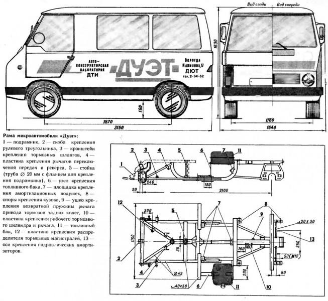 Дуэт - микроавтобус