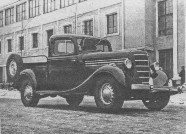 ГАЗ 11-415 - прототип пикапа