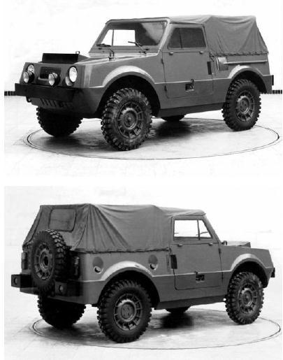 ВАЗ-Э2122 - армейский внедорожник