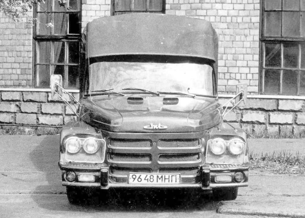 ЗиЛ-114 Чебурашка - развозной грузовик