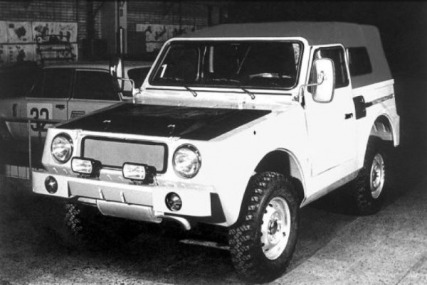 ВАЗ-2Э2122 - второй вариант амфибии