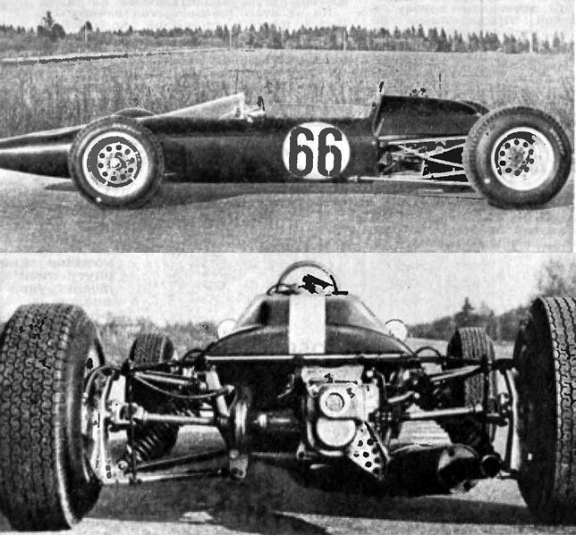 Эстония-9 - советский гоночный болид
