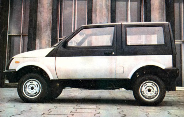 ЛуАЗ-1301 - прототип легкого джипа