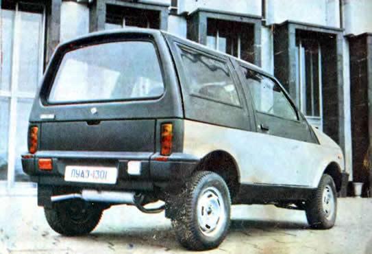 ЛУАЗ-1301 - джип с пневмоподвеской