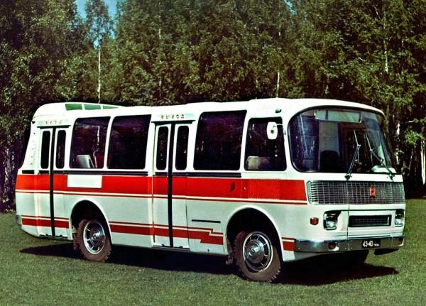 ПАЗ-3302 - опытный автобус