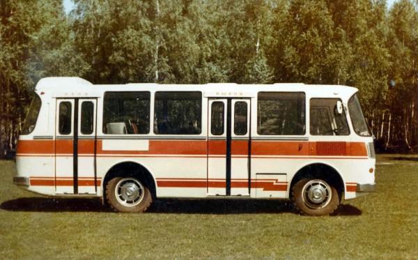 ПАЗ-3302 - комфортный автобус перспективного семейства