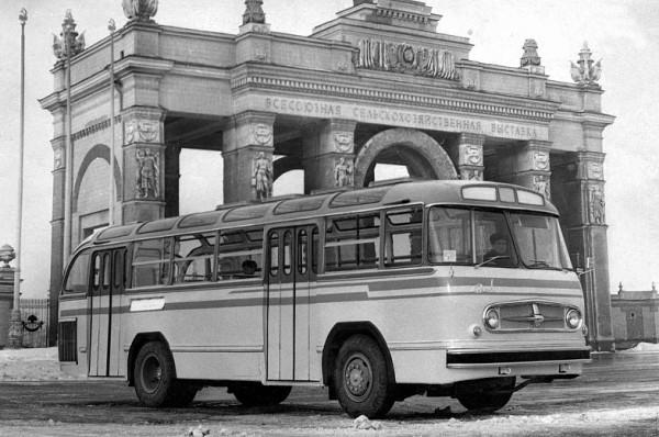ЗиЛ-159 - опытный городской автобус