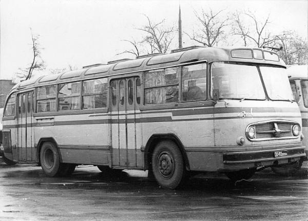 ЗиЛ-159 - опытный автобус.