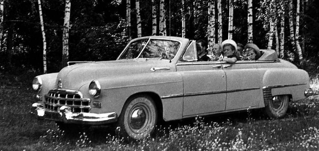 ГАЗ-12А Фаэтон