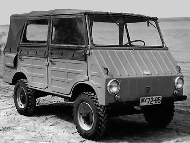 ЗАЗ-971 - полноприводный утилитарный автомобиль
