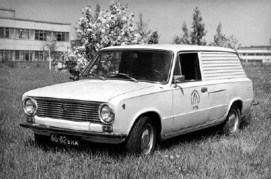 ВАЗ-2102Э - электромобиль