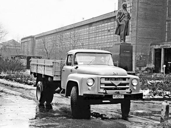 ЗиЛ-130 Опытный (1 серия) - первый грузовик семейства