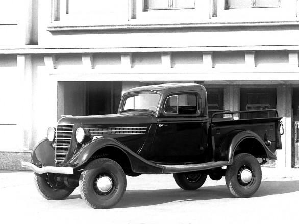 ГАЗ 61-415 - полноприводная версия опытного пикапа