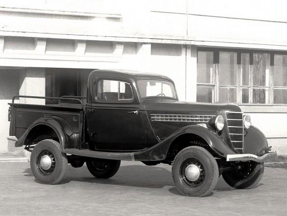 ГАЗ 61-415 - полноприводный пикап