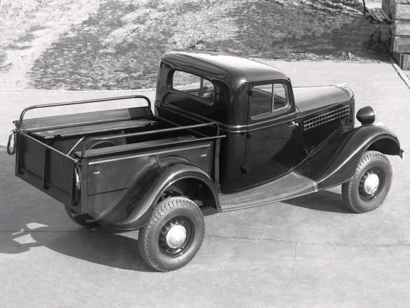 ГАЗ 61-415 - опытный полноприводный пикап