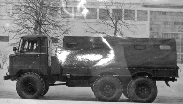 ГАЗ-34 - трехосная шишига