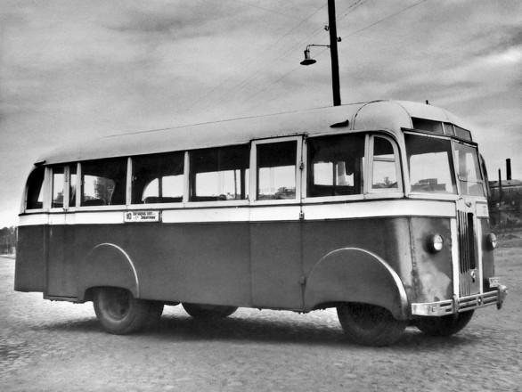 АТУл Л1 - один из первых послевоенных автобусов