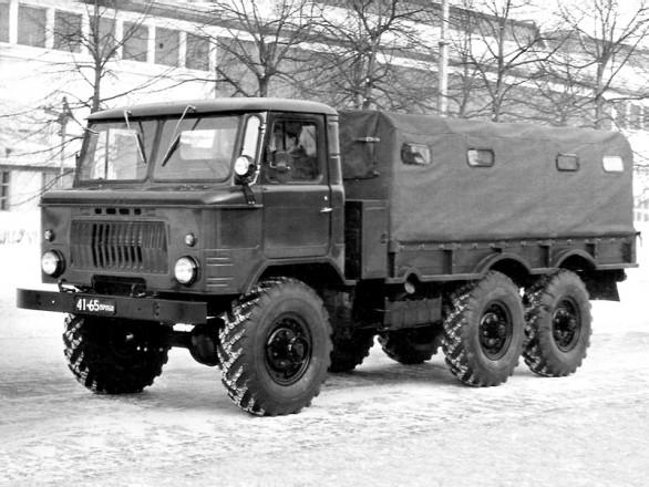 ГАЗ-34 - трехосная трехтонка
