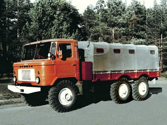 ГАЗ-34 - трехосный вариант ГАЗ-66