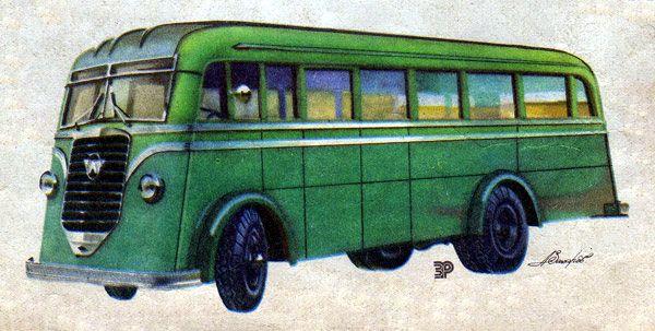 АТУЛ л1 - первый автобус вагонной компоновки