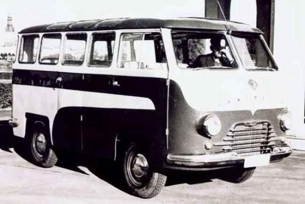 РАФ-08 spiriditis - опытный 8-местный микроавтобус