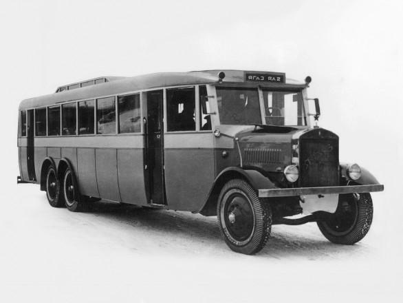 ЯА-2 - опытный автобус повышенной комфортности