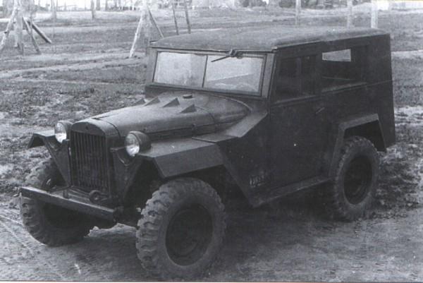 ГАз-67-420 - армейский джип с закрытой кабиной