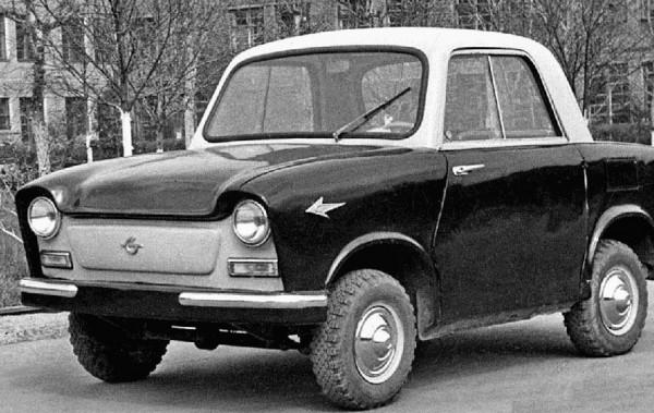 НАМИ-031 - микроавтомобиль с пластиковым кузовом