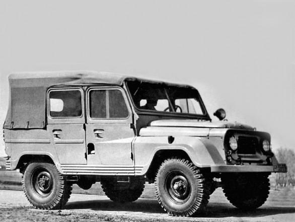 УАЗ-460 - первый прототип армейского внедорожника