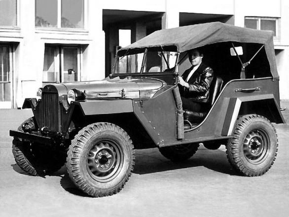 ГАЗ-67 с мягким верхом