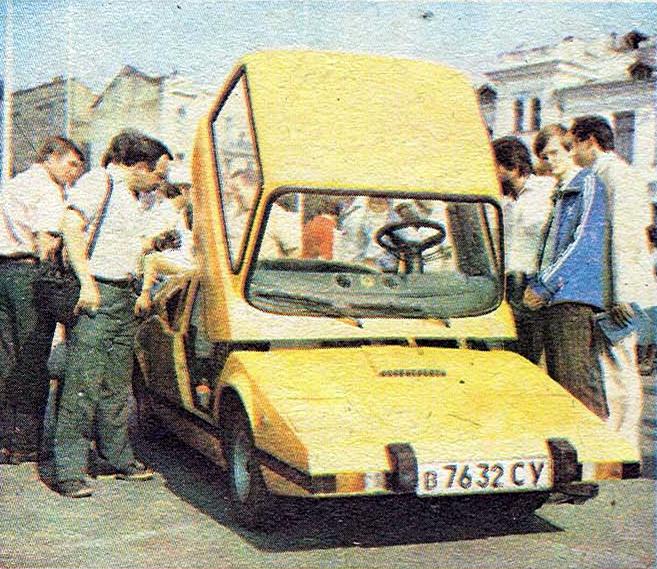 Мурена - самодельный автомобиль Н.Дорошенко