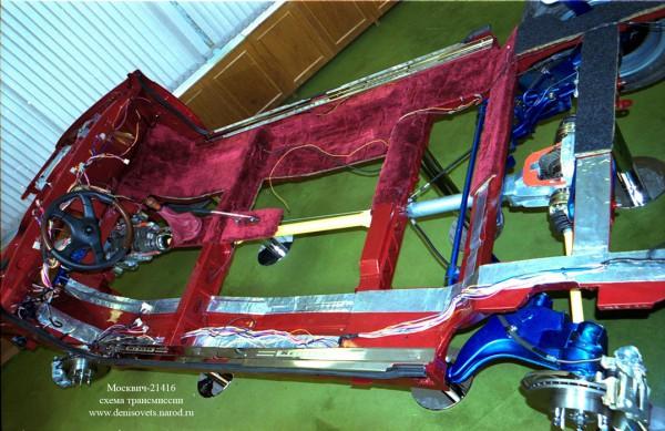 Москвич-21416 – модель трансмиссии