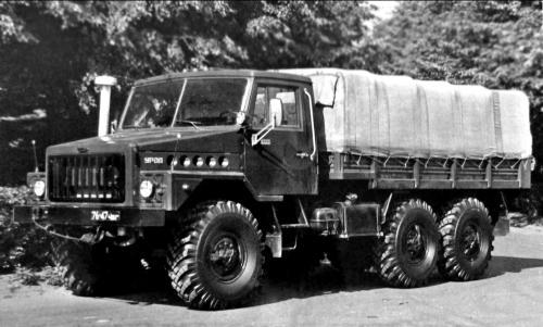 """Урал-4322 - первый прототип семейства армейских грузовиков """"Суша"""""""