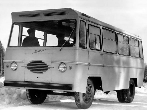 Уралец-66 - прототип автобуса для министерства культуры