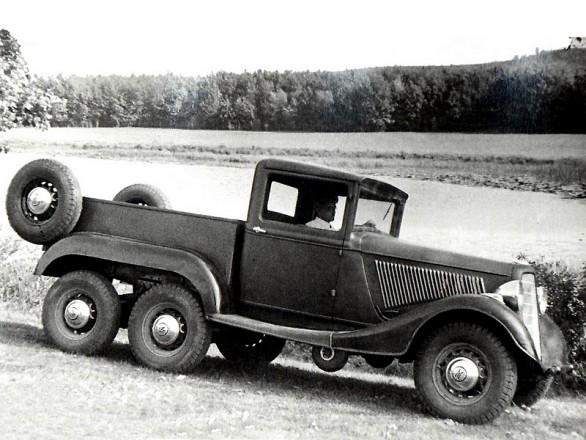 ГАЗ-21 Опытный 1936 год